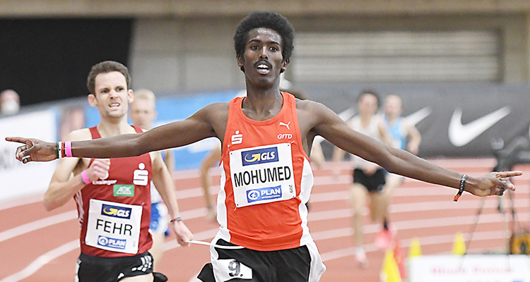 Mohamed Mohumed und Henrik Krause holen Gold bei...